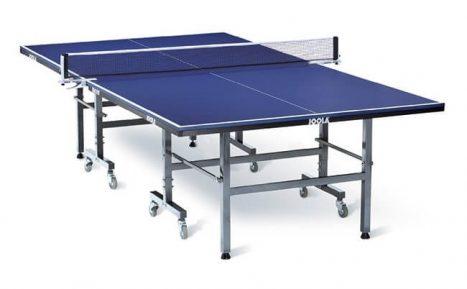 Joola Transport Table Tennis Table – שולחן טניס שולחן פנים מתקפל תוצרת גרמניה