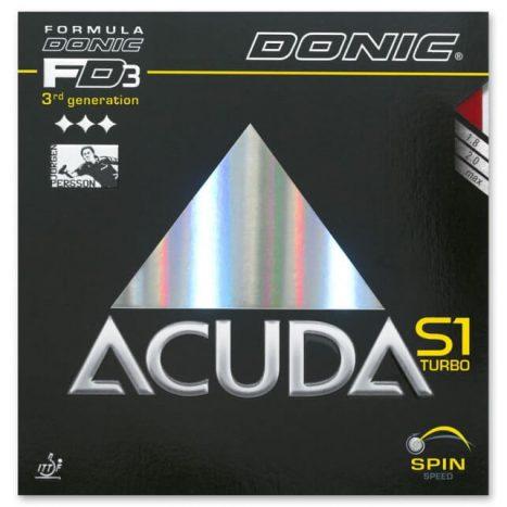 Donic Acuda S1 Turbo – גומי טניס שולחן אקודה אס 1 טורבו של דוניק