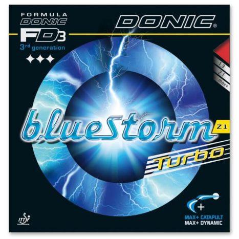 Donic Bluestorm Z1 Turbo – גומי טניס שולחן בלוסטרום זד 1 טורבו של דוניק