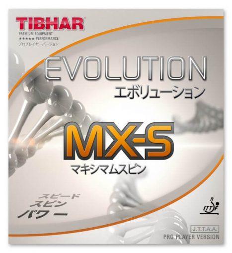 Tibhar Evolution MX-S- גומי טניס שולחן אבולושן אמ.אקס.אס