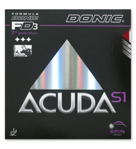 Donic Acuda S1 – גומי טניס שולחן אקודה אס 1 של דוניק