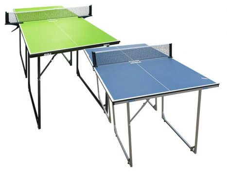 שולחן טניס שולחן מיני מתקפל תוצרת גרמניה(joola) המתאים למקומות קטנים