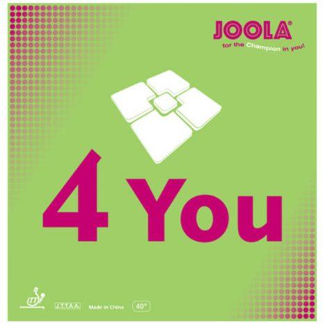 JOOLA 4-You Table Tennis Rubber – גומי טניס שולחן תוצרת יולה גרמניה