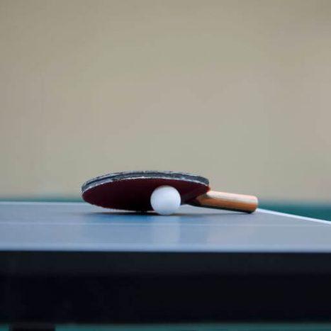 מחבט טניס שולחן מקצועי קרבון dhs עם Donic Bluestorm Z1